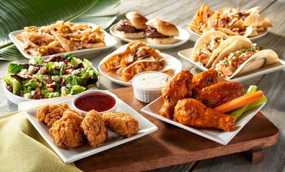 image for 20% Cash Back at Hurricane Grill & Wings