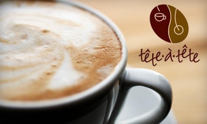 Têtê-à-Têtê Café - Sheepshead Bay: $7 for $15 Worth of American Bistro Fare at Têtê-à-Têtê Café in Brooklyn