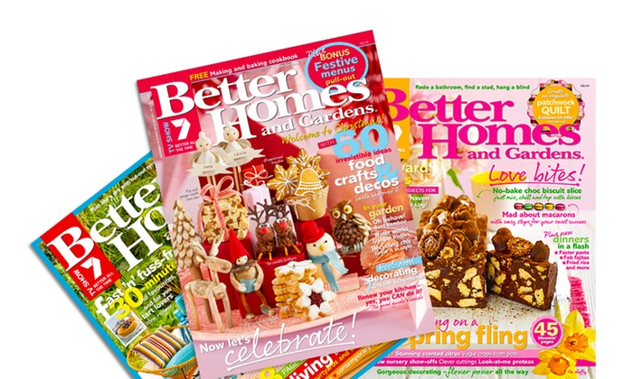 Better Homes Gardens 1Year Sub Groupon Goods