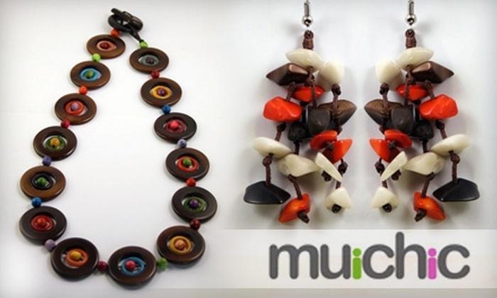 muichic - Charlotte: $15 for $35 of Organic, Handmade Jewelry from muichic