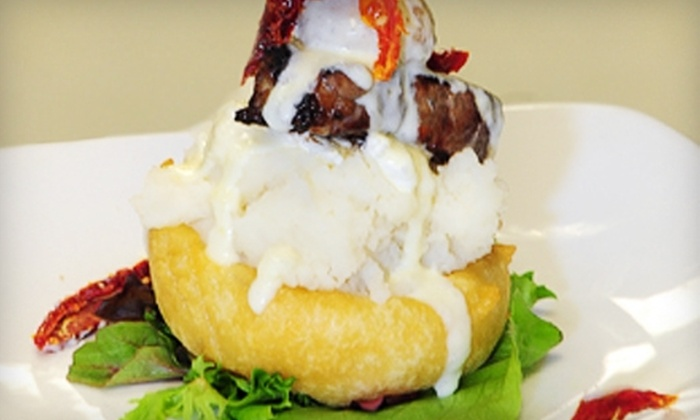 Regatta Steak & Seafood Grille - Gravenhurst: $20 for $40 Worth of Surf-and-Turf Cuisine and Drinks at Regatta Steak and Seafood Grille in Gravenhurst
