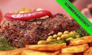 Adria Restaurant: Adria-Platte oder Schnitzel-Platte inkl. Nachtisch für Zwei, Vier oder Sechs im Adria Restaurant (bis zu 51% sparen*)