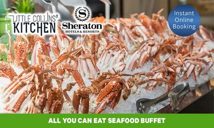 AYCE Seafood Buffet: TueThu $99 or 4 $197, or FriSun $119 or 4 $237 at Little Collins St Kitchen
