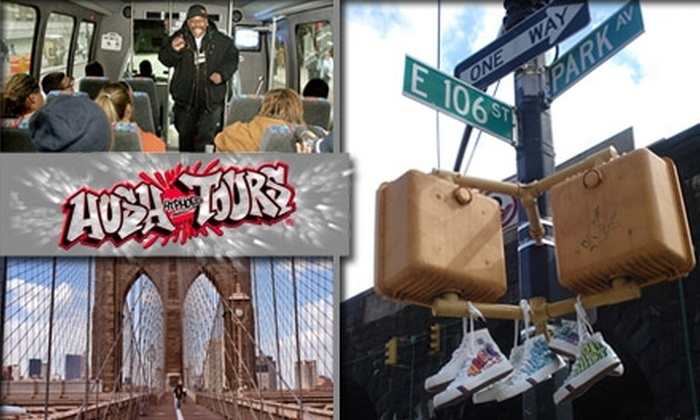 Hush Hip Hop Tours - New York City: $30 for a Historical Hip-Hop Tour of New York Led by Legendary Emcees (Up to $63 Value)