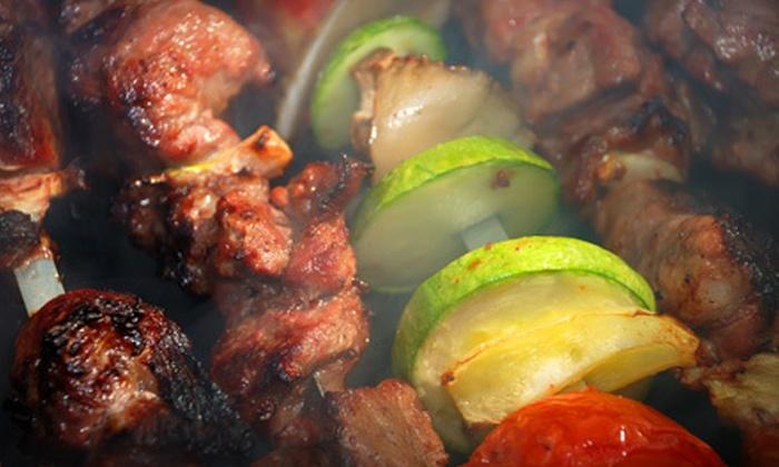 Brazilian Steakhouse - Woburn: Brazilian Barbecue at Brazilian Steakhouse in Woburn (Up to 56% Off). Two Options Available.