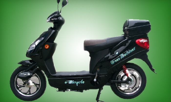Jademark Technologies - Industrial Park: $999 for an Electric Bicycle, Two-Year Warranty, and Rain Cover at Jademark Technologies ($1,428.99 Value)
