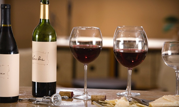 Cavas Wine Tasting Room Café - Brickell: Sommelier-Guided Tasting and Five-Course Tapas Menu for Four or $15 for $30 Worth of Tapas, Wine, and Beer Tastings at Cavas Wine Tasting Room Café