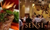 Sensi - Shockoe Bottom: $20 for $40 Worth of Cuisine and Drinks at Sensi
