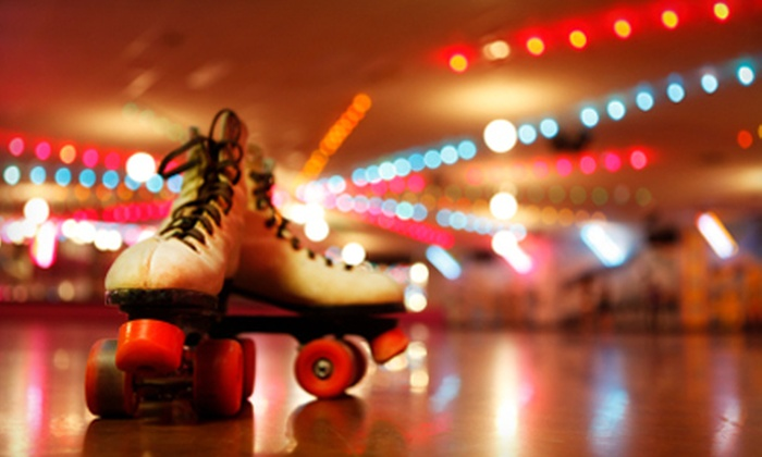 Roller Time - Huntsville: $8 for Skating Package for Two at Roller Time (Up to $22 Value)