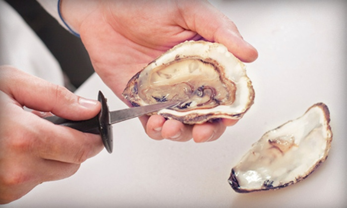 The Lobster Man - Granville Island: $14 for Two Dozen Oysters and a Shucking Knife from The Lobster Man ($29.96 Value)