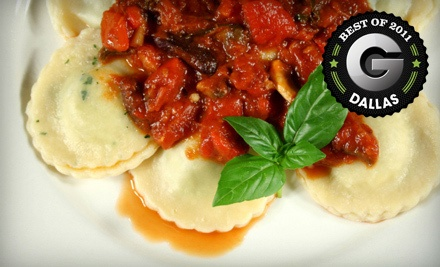 $20 Groupon for Dinner - Siciliano's A Taste of Italy in Garland