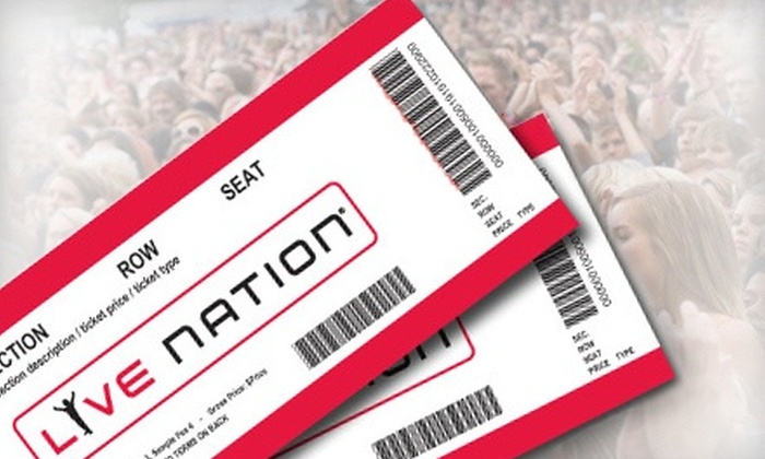 Live Nation Entertainment at Darien Lake Performing Arts Center: $20 for $40 of Concert Cash Toward Tickets for Concerts at the Darien Lake Performing Arts Center from Live Nation