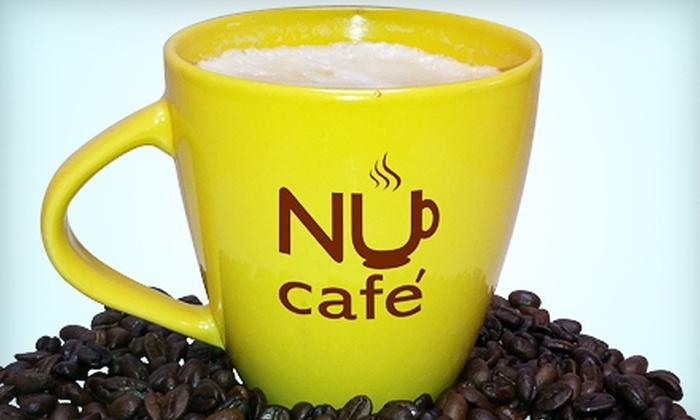 Nu Cafe - Multiple Locations: $5 for $10 Worth of Smoothies, Paninis, and More at Nu Cafe