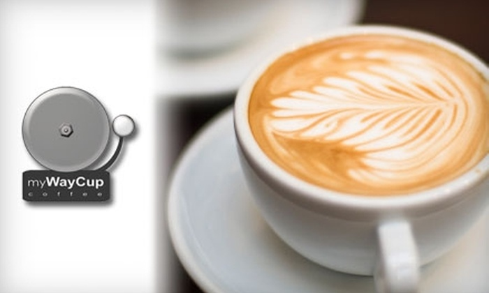 myWayCup Coffee - Gramercy Park: $10 for $20 Worth of Coffee and Espresso at myWayCup Coffee in Gramercy Park