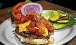 Whistle Stop Public House: Wings, Burgers, and Sandwiches at Whistle Stop Public House (Up to 40% Off). Two Options Available.