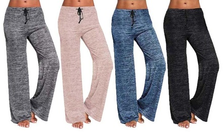 One or Two Pairs of Lounge Wide Leg Trousers