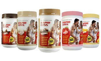 2x Rapid Loss Meal Replacement 750g