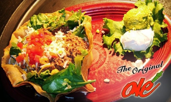 Olé Fine Mexican Cocina - Northwest Oklahoma City: $10 for $20 Worth of Mexican Cuisine and Non-Alcoholic Drinks at Olé Fine Mexican Cocina