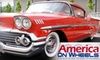 America on Wheels - Multiple Locations: $15 for Individual Membership ($35 Value) or $3 for One-Day Pass (Up to $7 Value) to America on Wheels