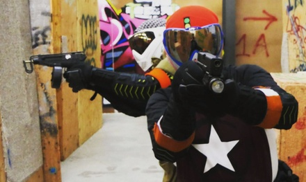 Admission for One with Rental Package to Tactical Airsoft Arena (Up to 42% Off). Two Options Available.