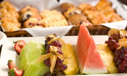 AllYouCanEat Breakfast Buffet For two or Four at Marco Pierre White at 4* Grand Harbour Hotel