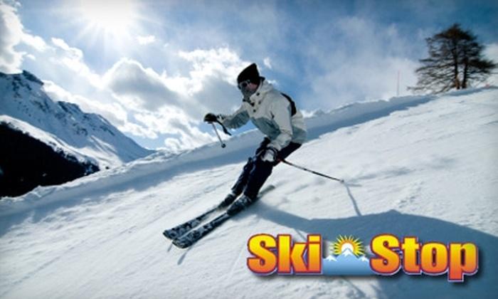 Ski Stop - Plainview: $20 for $40 Worth of Ski Gear or Apparel, or $20 for Ski Tune-Up ($40 Value) at Ski Stop