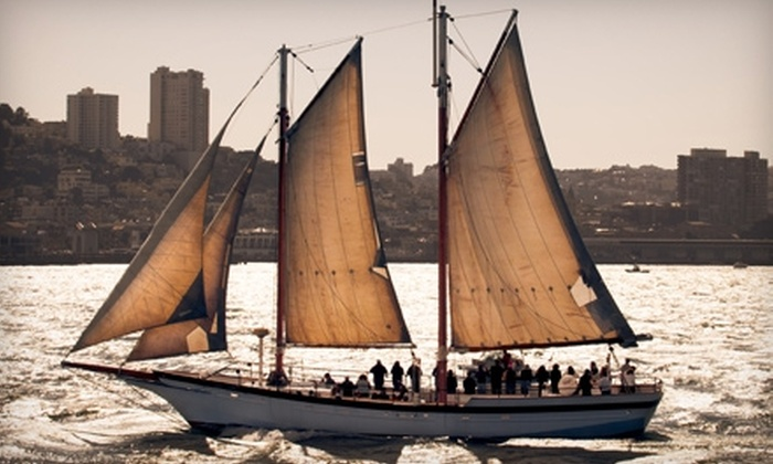 Spinnaker Sailing - San Francisco: $185 for a Two-Day Keelboat Sailing Lesson from Spinnaker Sailing ($375 Value)