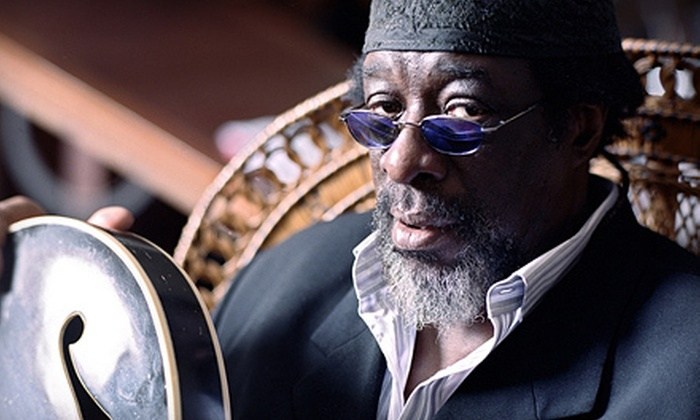 "James Blood Ulmer's Memphis Blood Feat. Vernon Reid and Me'Shell Ndegéocello - Downtown: James ""Blood"" Ulmer's Memphis Blood Concert for Two at Music Hall on Saturday, December 1, at 8 p.m. (Up to $119 Value)"