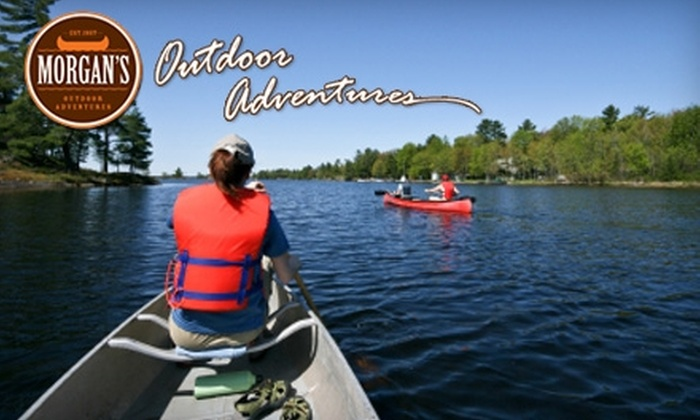Morgan's Outdoor Adventures - Brookville: $22 for a Self-Guided Canoe Ride on Whitewater River from Morgan's Outdoor Adventures
