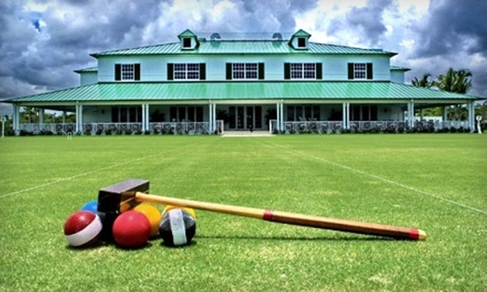National Croquet Center - Lake Worth: Croquet at National Croquet Center. Two options available.