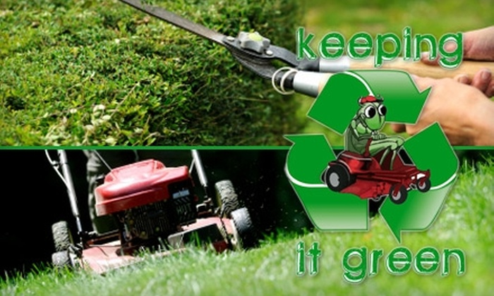 Keeping It Green - Cincinnati: $25 for Two Hours of Spring Yard Cleanup from Keeping It Green ($60 Value)