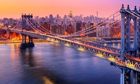 ✈ New York, San Francisco, Los Angeles and Las Vegas: 10-Night Getaway with International and Domestic Flights*
