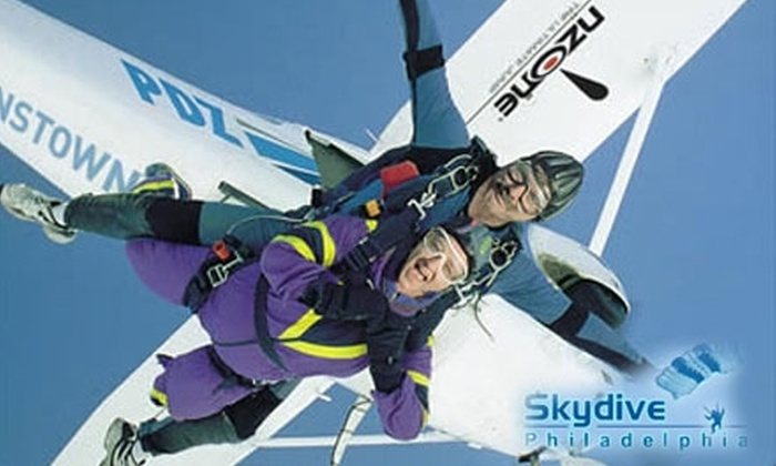 Skydive Philadelphia - Perkasie: $115 for a Tandem Jump at Skydive Philadelphia ($195 Value)