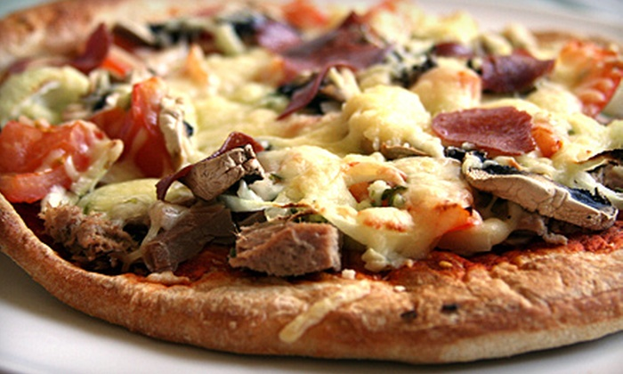 Soho Pizza Factory - New Springville: $10 for $20 Worth of Food and Drink Plus One Small Pizza or Pasta Dish ($27.95 Value)