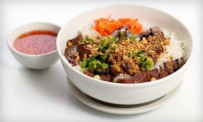 V-House Pho & Grill - La Mesa: $6 for $12 Worth of Vietnamese Fare at V-House Pho & Grill in La Mesa
