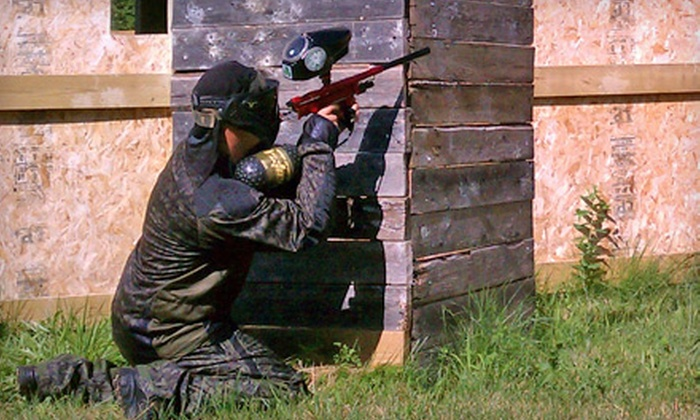 RHC Paintball Fields - Richmond: $22 for Admission and Gear Rental at RHC Paintball Fields in Richmond ($45 Value)