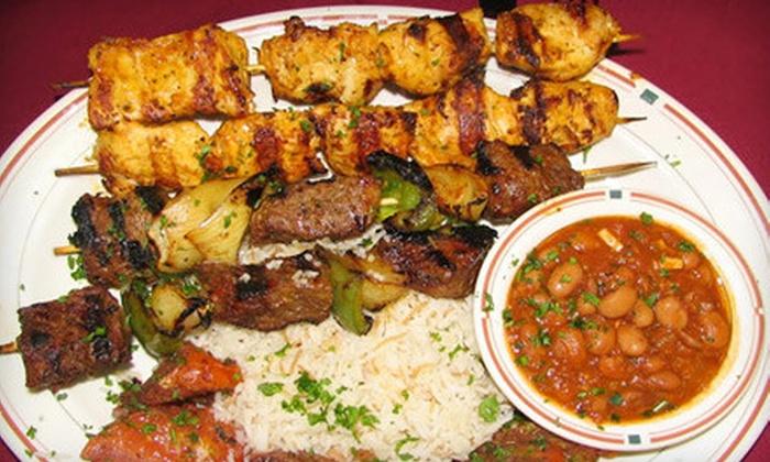 Ali Baba Las Vegas - Silverado Ranch,Paradise: $18 for Lebanese Entrees for Two at Ali Baba Las Vegas ($36 Value)