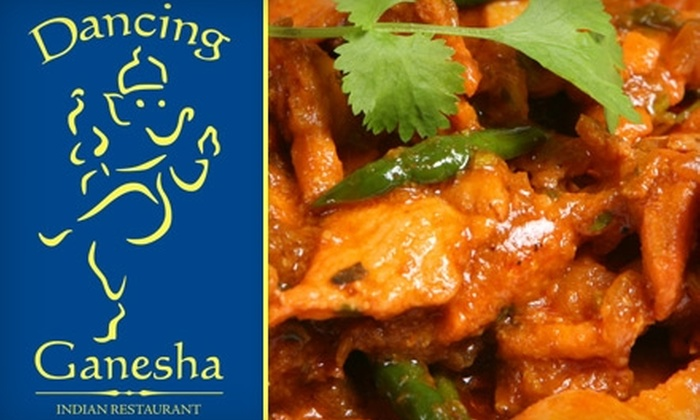 Dancing Ganesha - Downtown West: $15 for $30 Worth of Indian Cuisine at Dancing Ganesha