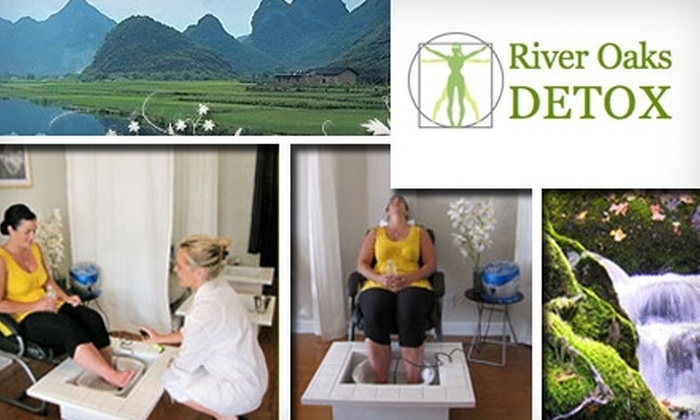 River Oaks Detox - Neartown/ Montrose: $49 for Six Detoxifying Ion Therapy Sessions at River Oaks Detox ($149 Value)