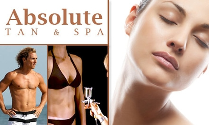 Absolute Tan and Spa - Livonia: $40 for $100 Worth of Services at Absolute Tan and Spa