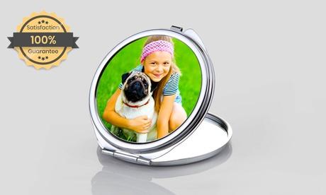 Llavero o espejo personalizado con foto a elegir entre varios modelos en Printerpix (con 88% de descuento)