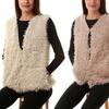 Gilbin's Women's Faux Fur Vest