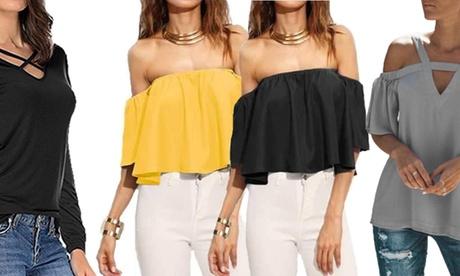 Blusas top para mujeres