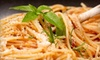 Gio's Italian Ristorante - 400 North: $15 for $30 Worth of Fine Italian Fare and Drinks at Gio's Italian Ristorante (or $35 Worth Sunday through Thursday)