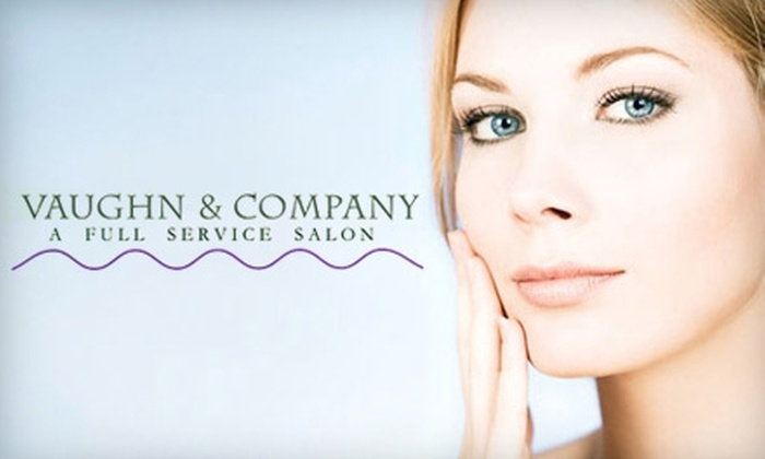 Vaughn & Company - Bath: $30 for a Mani-Pedi ($65 Value) or One-Hour Relaxing Facial ($60 Value) at Vaughn & Company