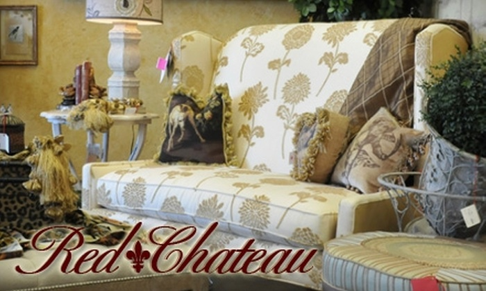 Red Chateau - Central Oklahoma City: $50 for $100 Worth of Furniture, Bedding, Candles, and More at Red Chateau