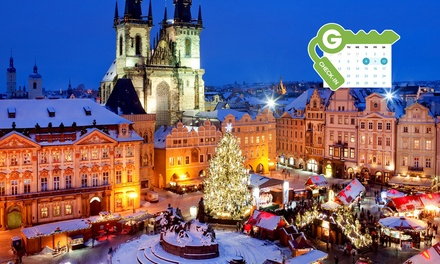 Prague: 4* Deluxe Junior Suite Stay with Wine