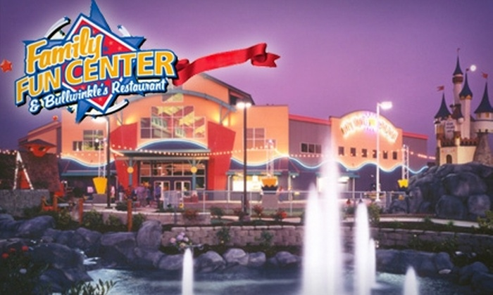 Family Fun Center & Bullwinkle's Restaurant  - Tukwila: $25 for a 230-Point Value Card to Family Fun Center & Bullwinkle's Restaurant ($50 Value)