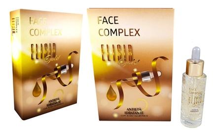 1 o 2 sieri viso antietà Face Complex da 30 ml, con acido ialuronico ed idratanti