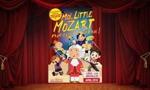 Ballet-Théâtre: 1 place en catégorie 1 ou 2 pour ''Moi, Little Mozart'', date au choix dès 31,50€ à Louvain-la-Neuve, Bruxelles et Liège